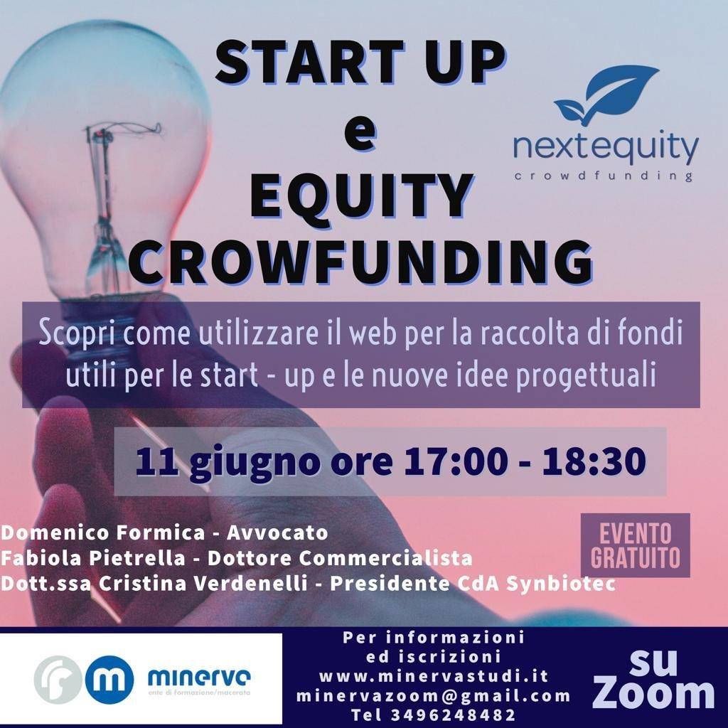 Webinar startup e crowdfunding