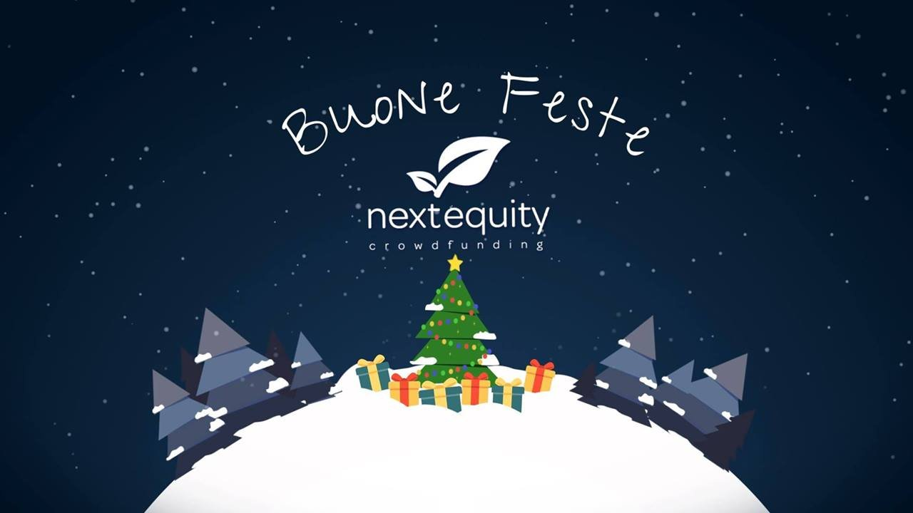 AUGURI DI BUONE FESTE DAL TEAM NEXT EQUITY CROWDFUNDING