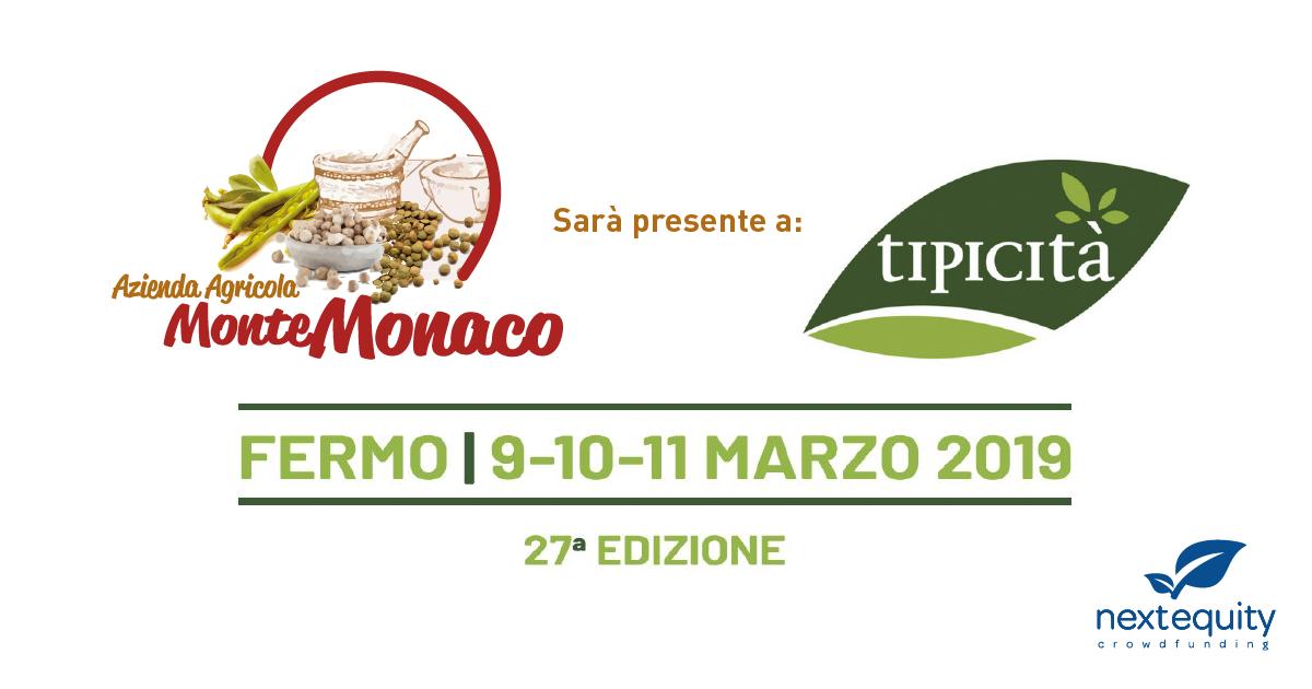 L'azienda agricola Monte Monaco sarà presente alla 27° edizione di Tipicità