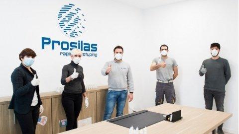 La solidarietà non si ferma: 100 parti di ricambio per respiratori agli ospedali dalla Prosilas di Civitanova Marche