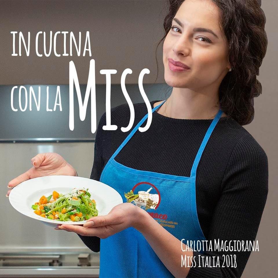 Carlotta Maggiorana testimonial dei prodotti bio Azienda Agricola MonteMonaco .