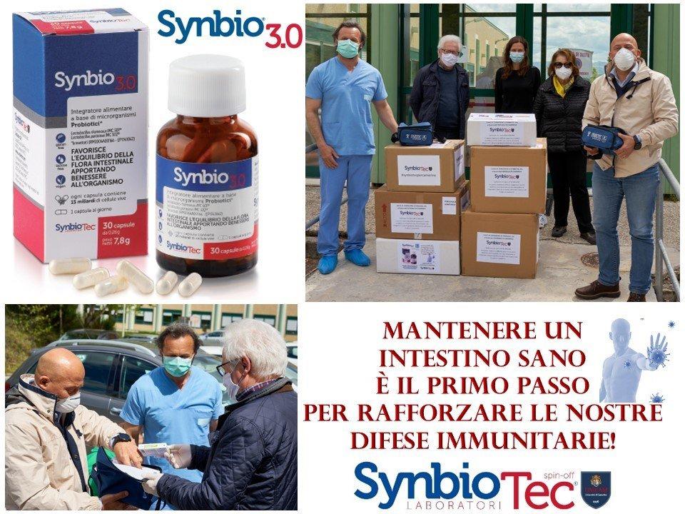 Emergenza Covid-19: DONAZIONE di SYNBIOTEC Srl a favore dell'OSPEDALE DI CAMERINO.